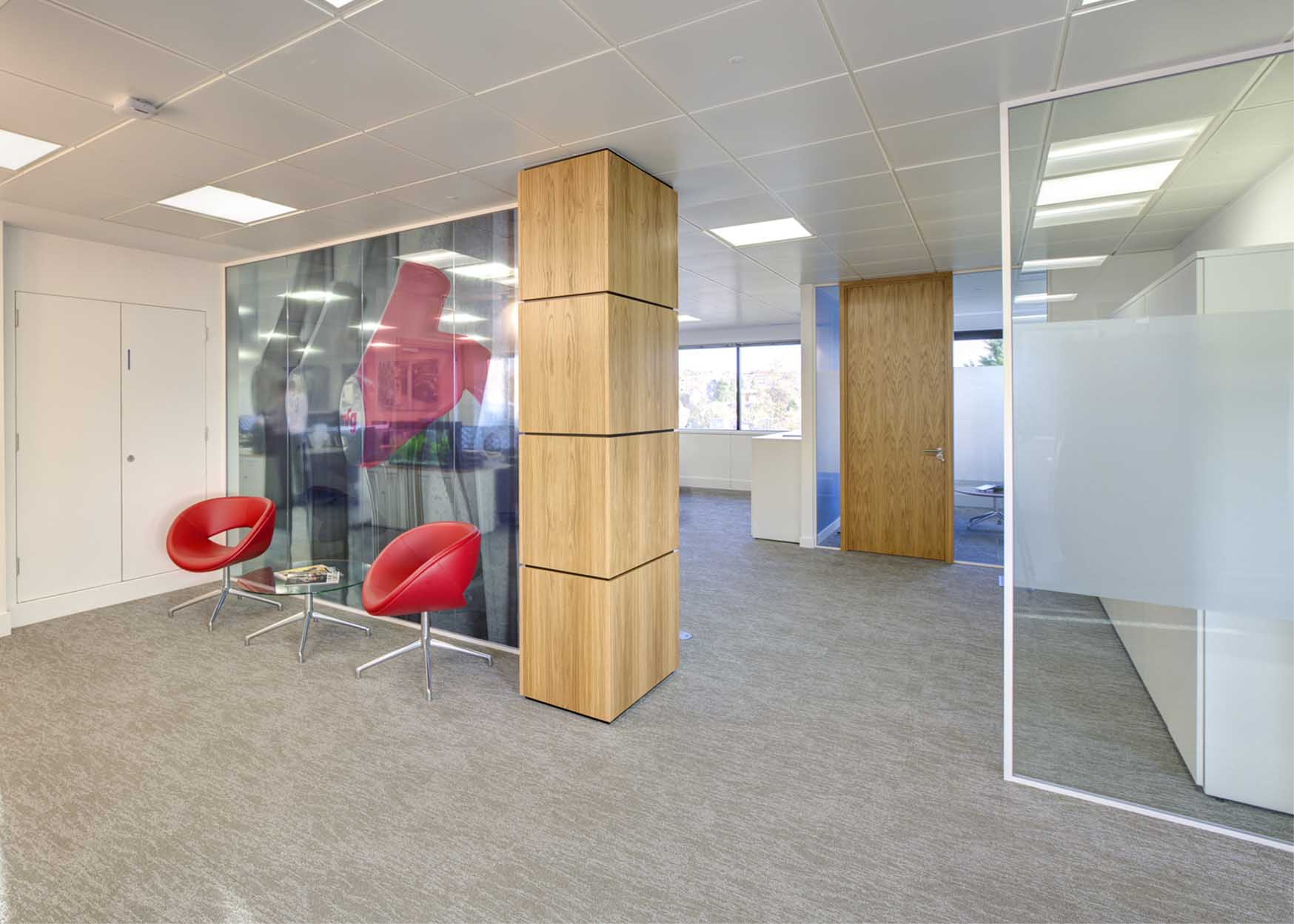 Interior Fit Out, Medium End Specification Design With Glazed Partitioning,  Bespoke Joinery, Feature Flooring, Feature Wall Panelling, Feature Wall  Finishes ...
