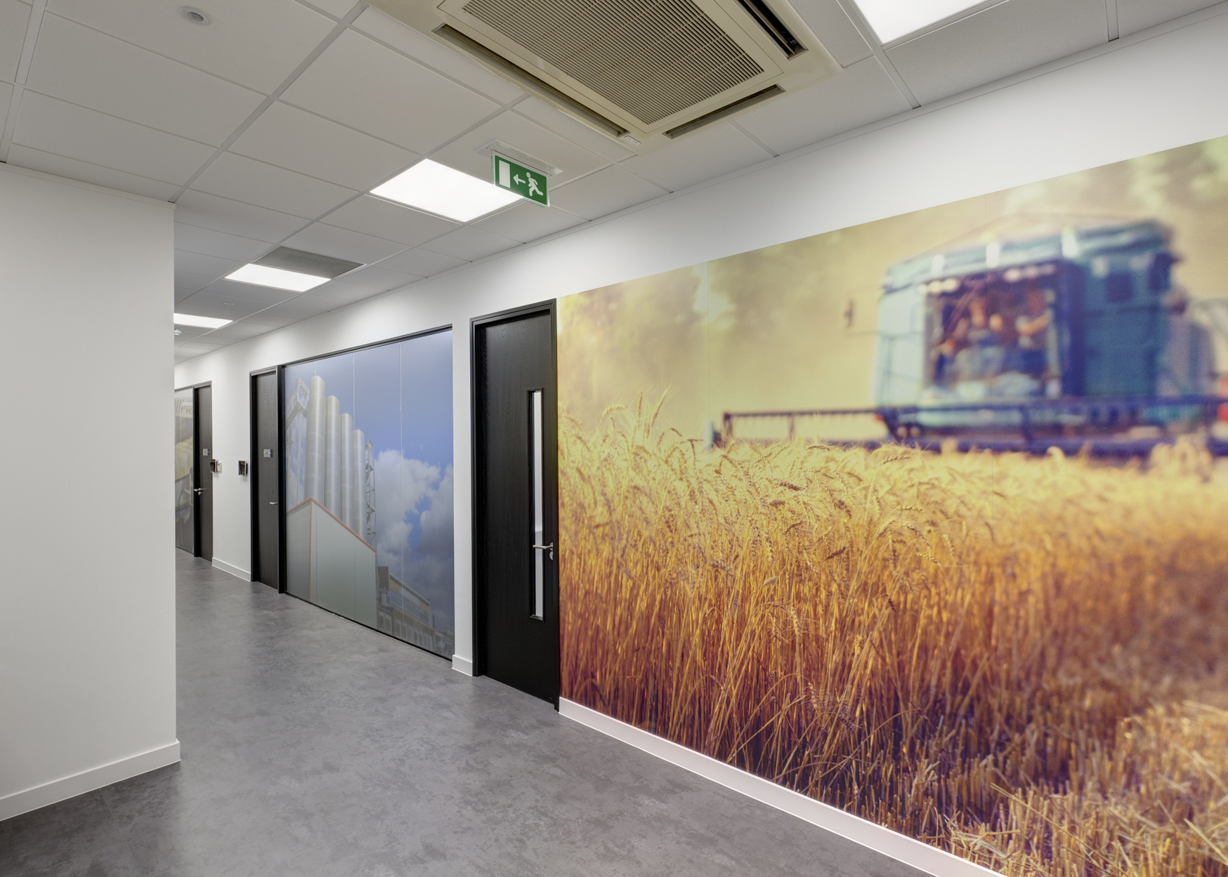 The Project Specification Included Bespoke Furniture, Feature Flooring,  Creative Wall Finishes And Branding, Refurbished Toilets And Showers Along  With A ...